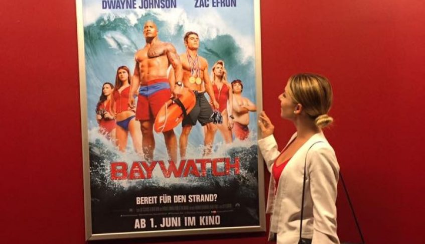 bei der Filmpremiere von Baywatch